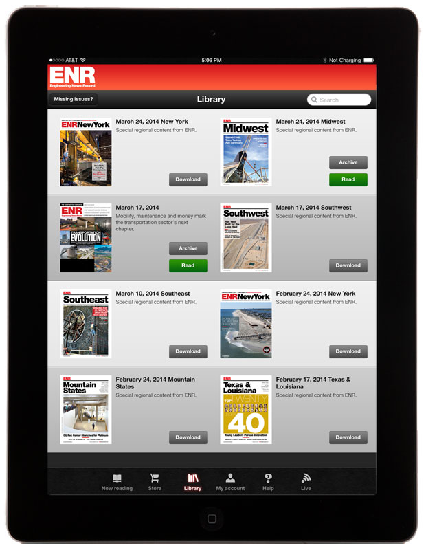 ENR-library-iPad