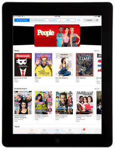 Newsstand-iPad