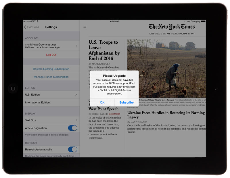 Media app updates: the NYT updates iOS apps to add section for the World Cup, platforms update previewer apps