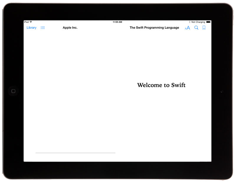 Swift-iPad