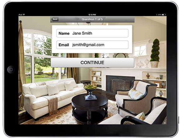 homefinder com launches open home pro for android tablet app