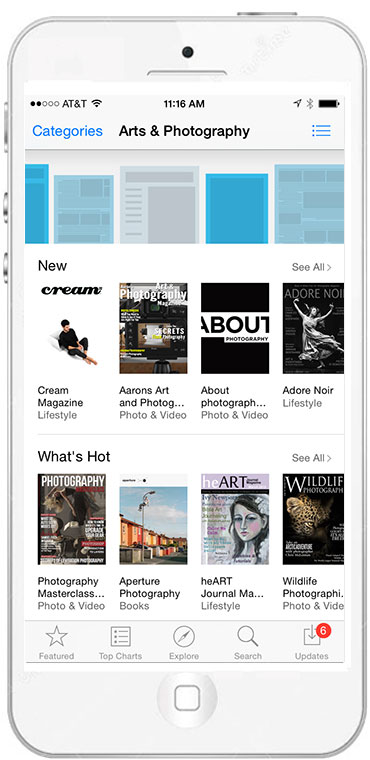 Newsstand-iPhone-cats