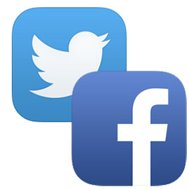 Twitter-Facebook-icons