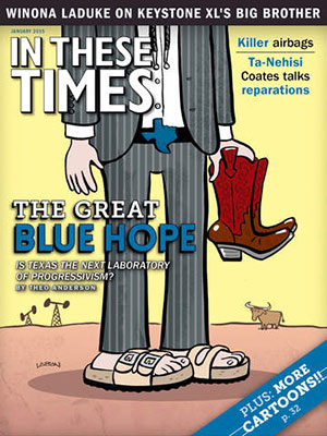 Political journal 'In These Times' launches native tablet edition