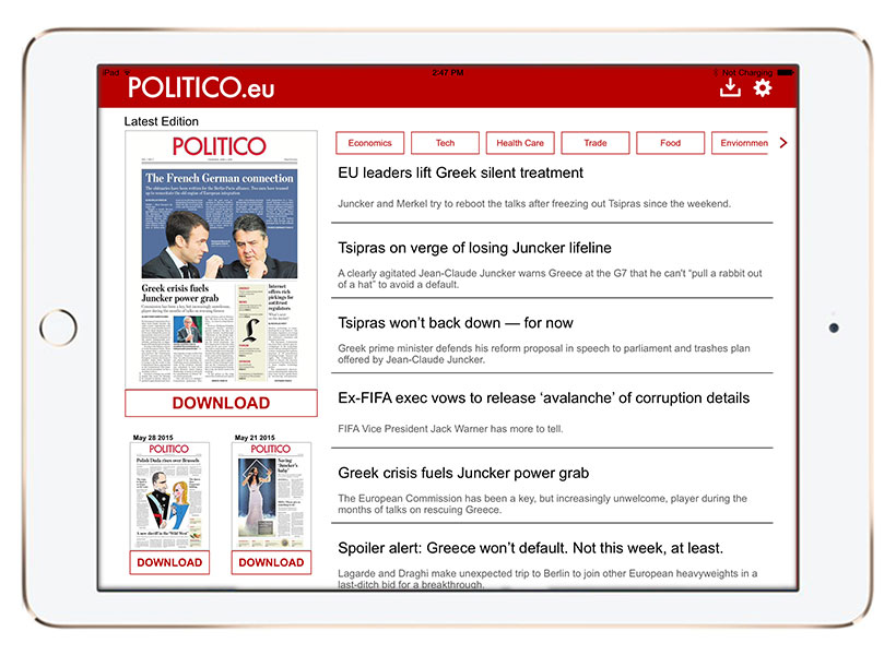 PoliticoEU-iPad-toc