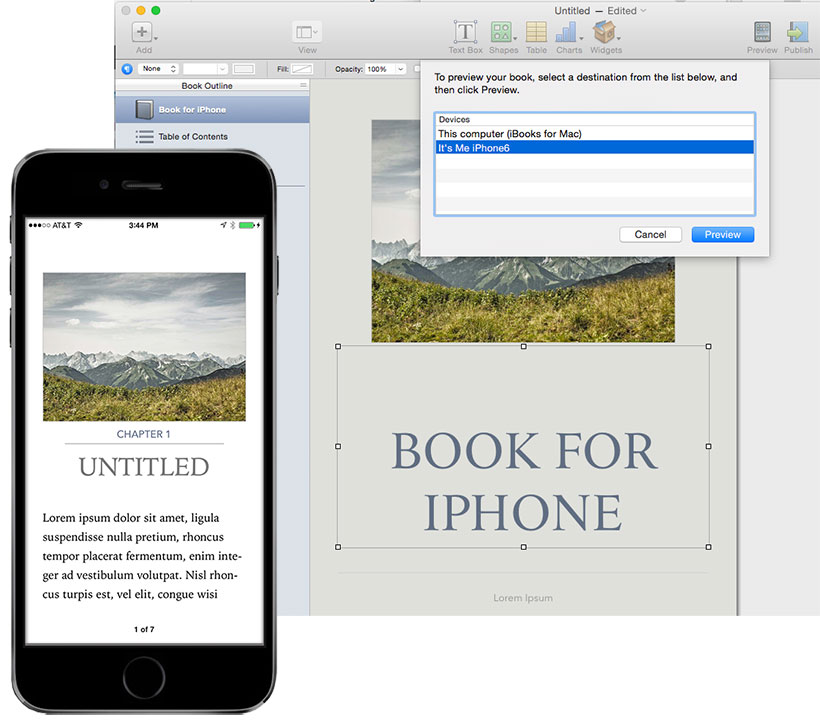 how to put epub on iphone