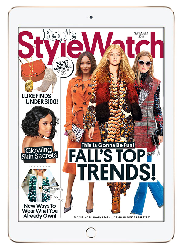 StyleWatch-iPad
