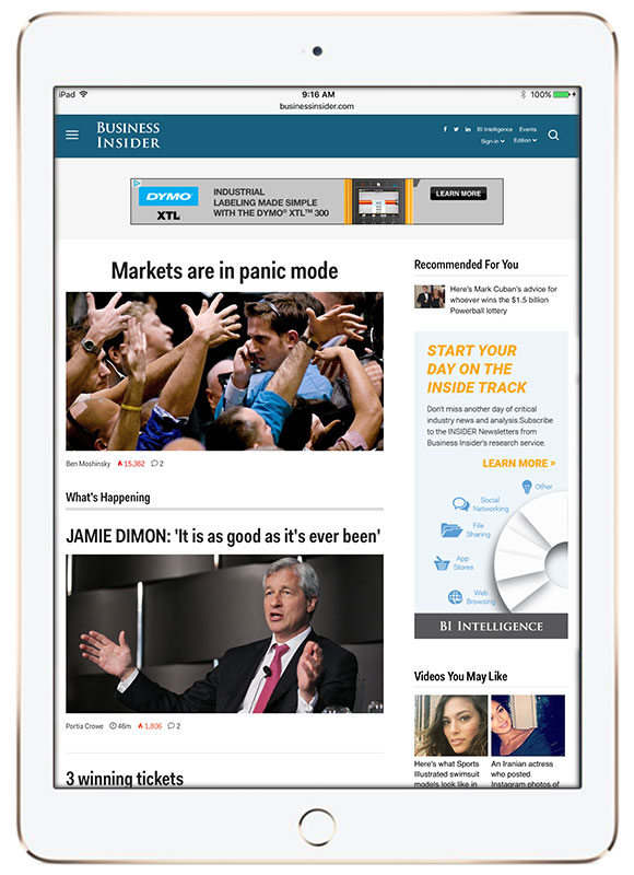 BusinessInsider-iPad