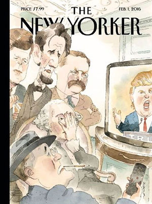 The New Yorker - Donald Trump - magazines