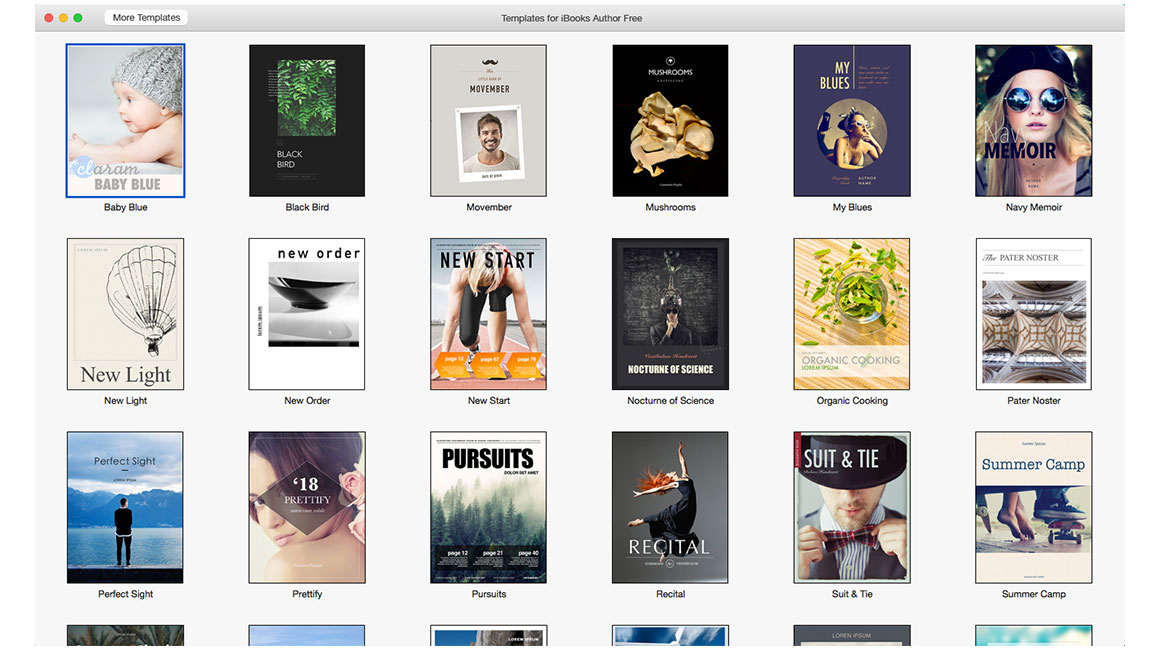 iBook Author templates: sameness of eBook templates limits their ...