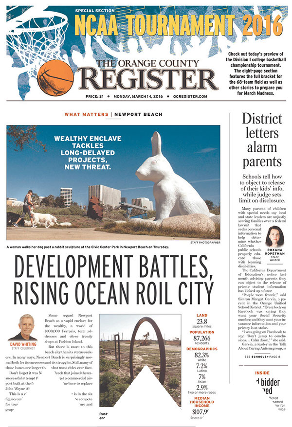 Orange County Register newspaper