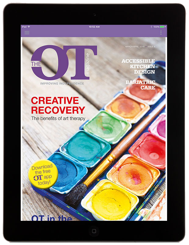 The OT Magazine iPad app
