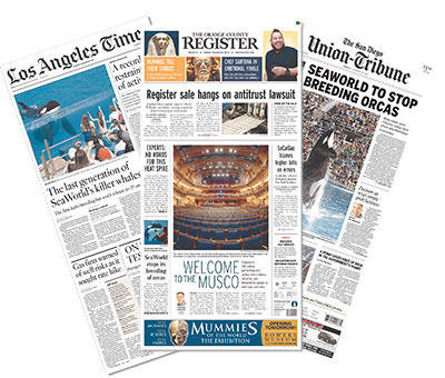 Tribune Publishing newspapers
