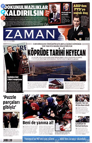 Zaman newspaper Turkey