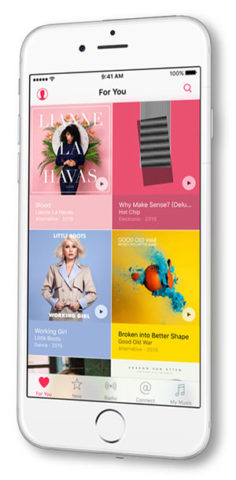 AppleMusic iPhone