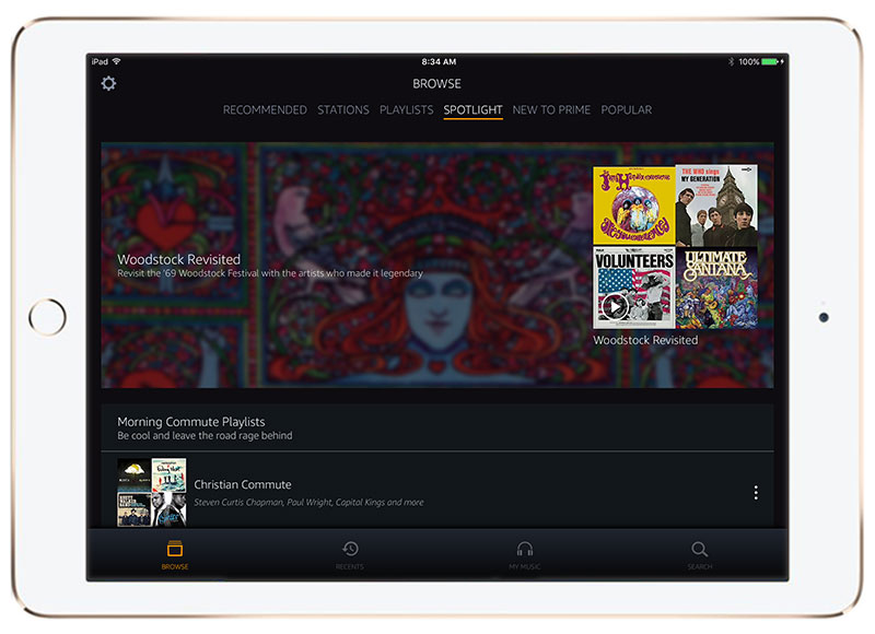 AmazonPrimeMusic-iPad
