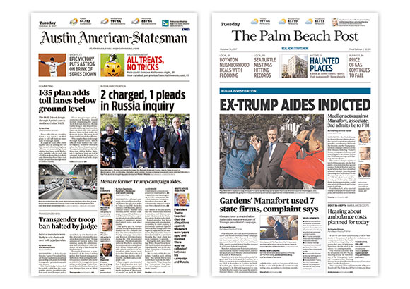 Cox Media Group Plans Sale Of Austin, Palm Beach Newspapers